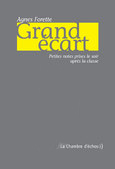Agn&egrave;s Forette, Grand &eacute;cart<br><span style=